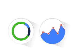 <p>Suivez les résultats avec des stats<br /> Obtenez toutes les statistiques nécessaires au suivi des bonnes performances de vos campagnes (nouveaux inscrits, ouvertures de mails, clics, ventes….).</p>