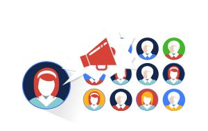 <p>Ne laissez pas partir vos visiteurs sans les connaître et engager la conversation. Récupérer leurs noms ainsi que leurs coordonnées de contacts.</p>
