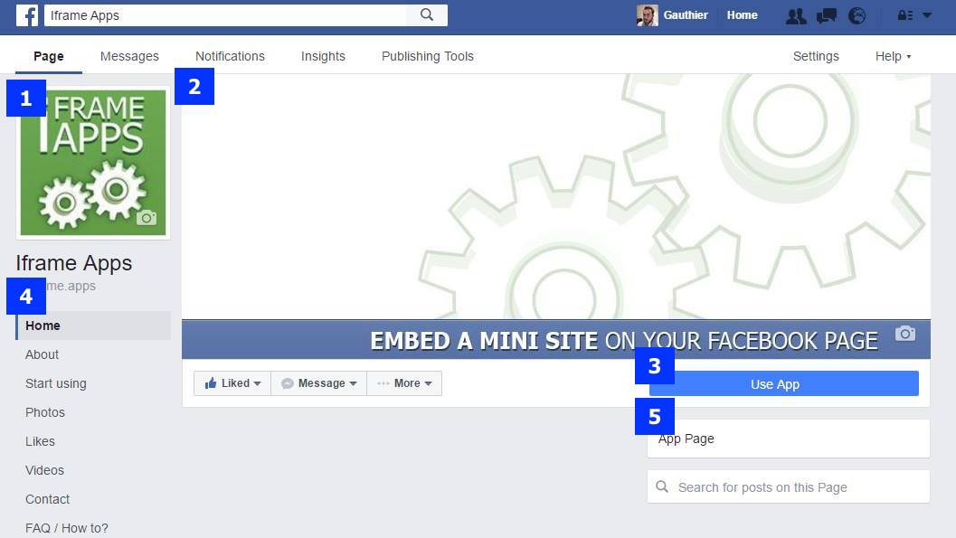 The New Facebook Page Layout 2016