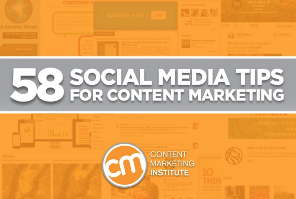 58 Social Media Ideas to Inspire Your Content Marketing
