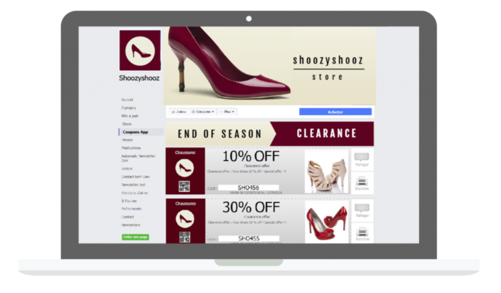 Increase ecommerce sales with Facebook Coupons