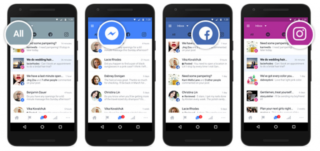 Facebook, Instagram and Messenger Merge Into Single Inbox